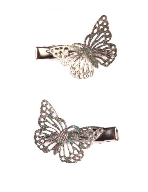 Spinki do włosów- motylki 2 szt. 4Y3520
