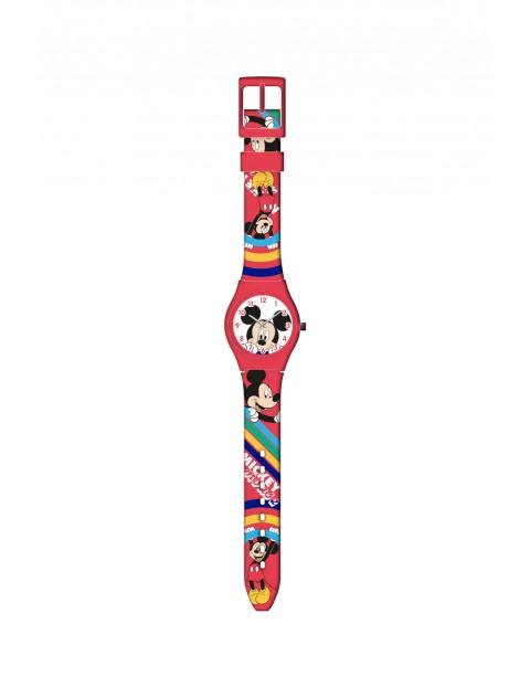 Zegarek analogowy dziecięcy  w metalowym opakowaniu - Myszka Miki,