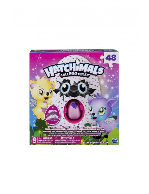 Puzzle Hatchimals 48 el
