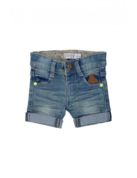 Spodenki chłopięce jeansowe