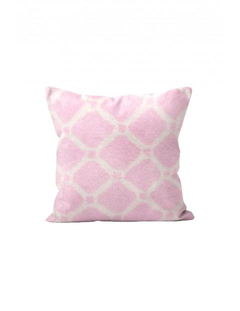 Poduszka Sonnet różowa 40x40cm