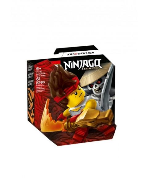 LEGO Ninjago 71730- Epicki zestaw bojowy - Kai kontra Szkielet - 61 elementów