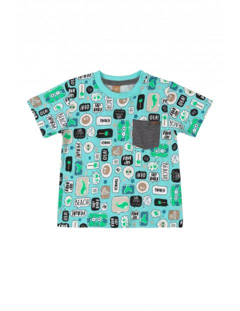 Koszulka dziecięca we wzorki