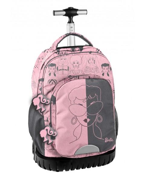 Plecak na kółkach Barbie różowy