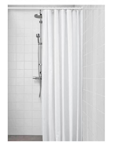 ZAC WHITE Zasłona prysznicowa szer:150 wys:180cm