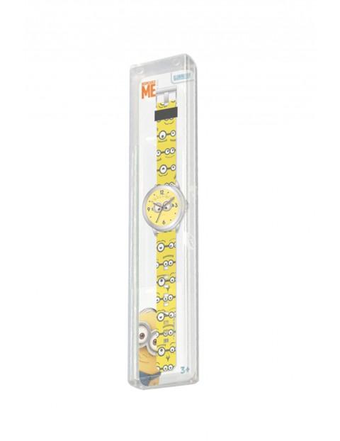 Zegarek analogowy dziecięcy - Minionki