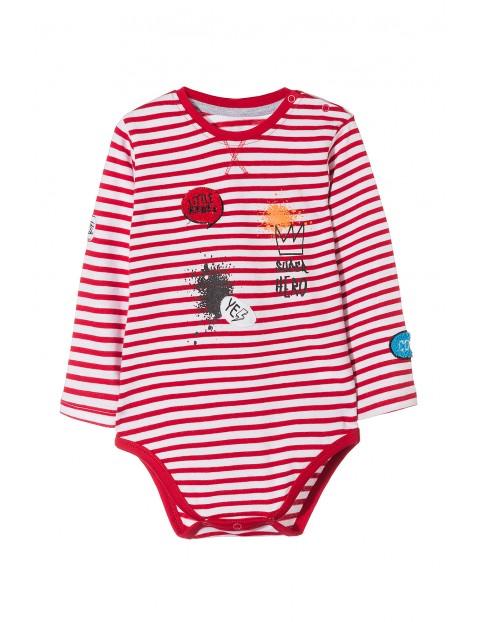 Body niemowlęce w paski 5T3502