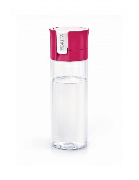 Butelka z filtrem BRITA różowa  0,6 L