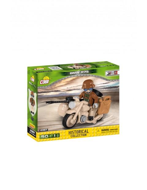 Kloci BMW R75 Sahara - motocykl z bocznym wózkiem 51el