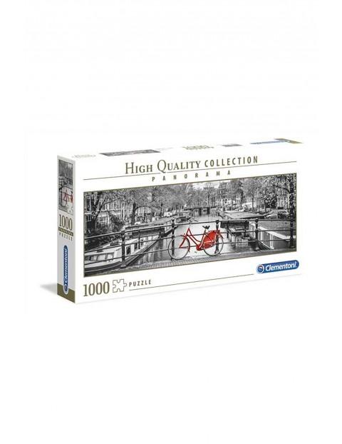 Puzzle  Panoramiczne HQ Rower w Amsterdamie - 1000 elementów
