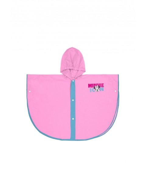 Peleryna przeciwdeszczowa dla dziewczynki- różowa Mickey