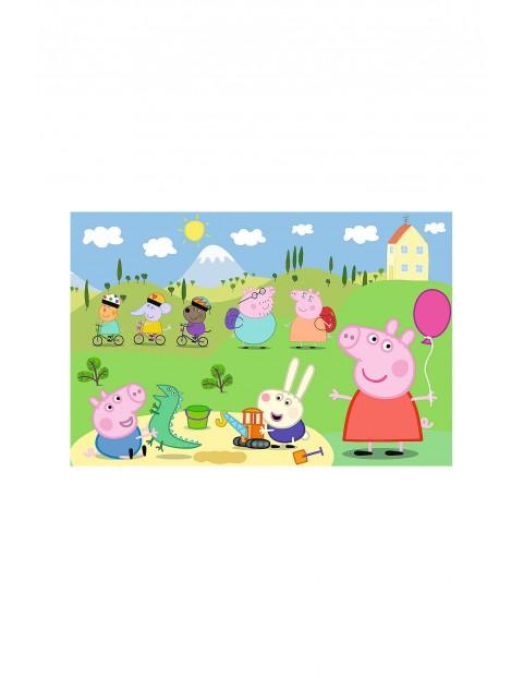 Puzzle 15 Maxi- Szczęśliwy dzień Peppy wiek 2+