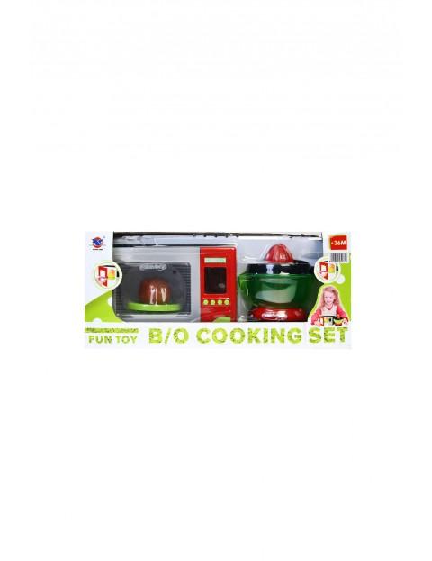 Kuchnia - zestaw mikrofalówka AGD