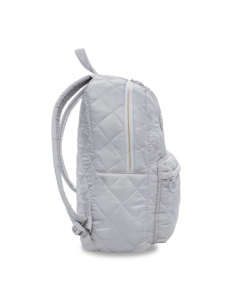 Plecak młodzieżowy pikowany Ruby Grey Mist