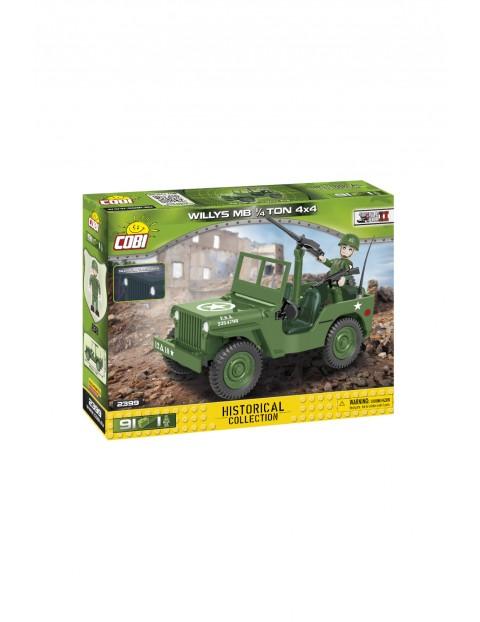 Klocki Cobi U.S. Army Truck 1/4 Ton - 91 klocków wiek 5+