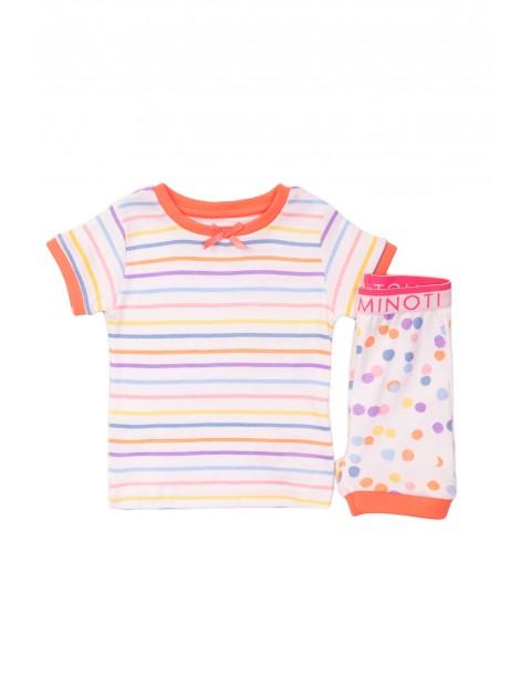 Kolorowa piżama dla dziewczynki