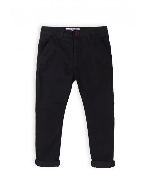 Chinos czarne- spodnie dla chłopca