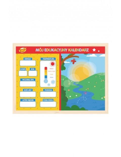 Mój edukacyjny kalendarz Smily Play wiek 3+