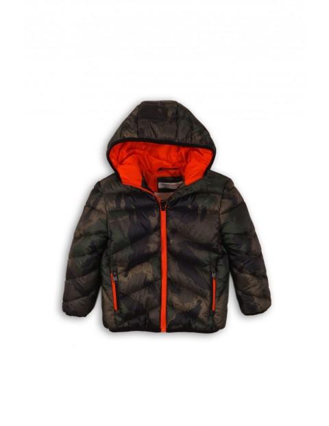Pikowana kurtka niemowlęca- moro