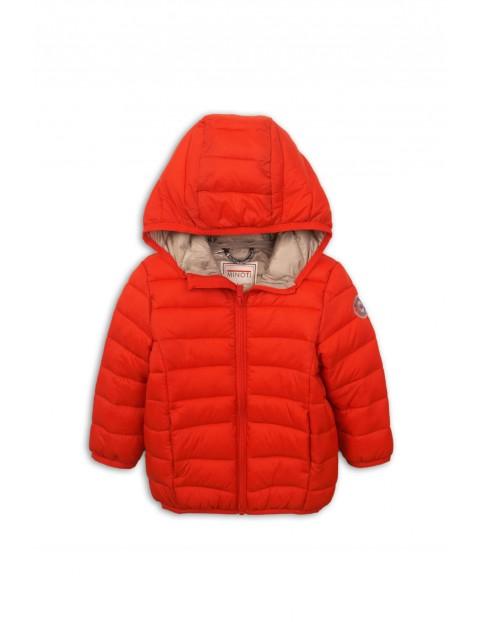 Kutka chłopięca czerwona pikowana
