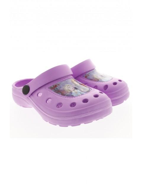 Sandały dziewczęce Frozen - fioletowe
