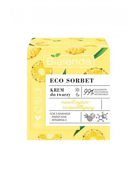 ECO SORBET Ananas - krem - nawilżająco-rozświetlający 50 ml