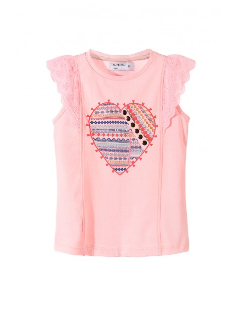T-shirt dziewczęcy 3I3418