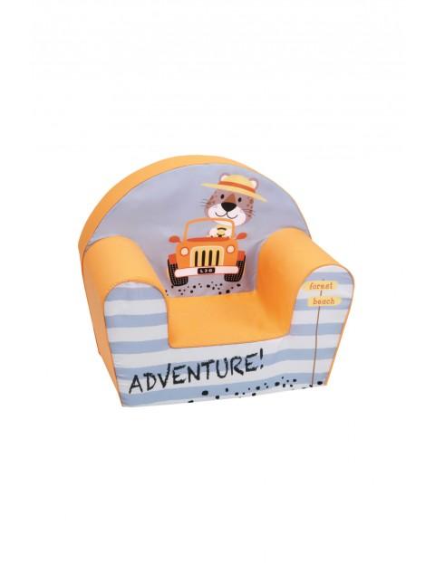 Fotelik piankowy dla dziecka Delsit Autko- adventure