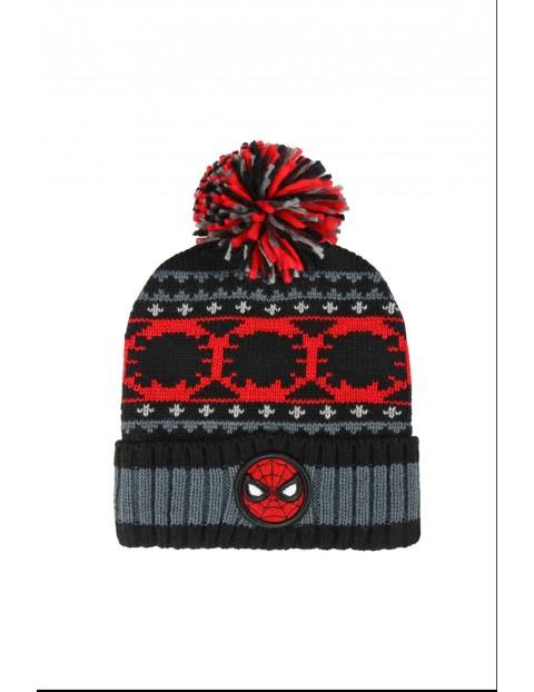 Czapka zimowa Spiderman 1X35BL