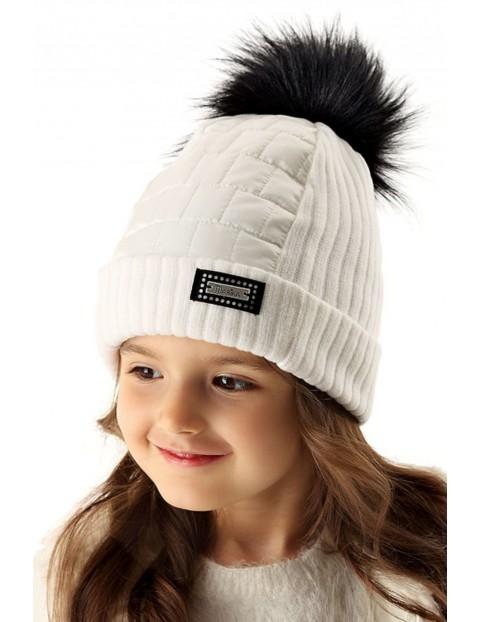 Czapka zimowa dziewczęca 3X35B0