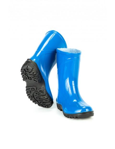 Kalosze dziecięce PVC - niebieskie