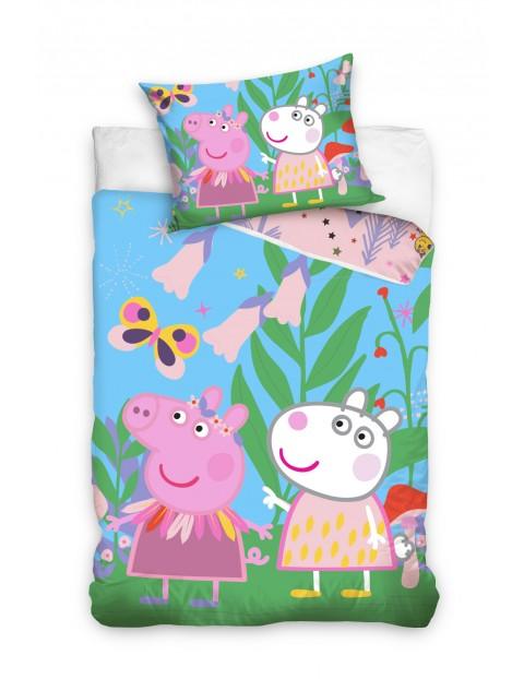 Pościel dla dzieci Świnka Peppa 160x200+70x80cm