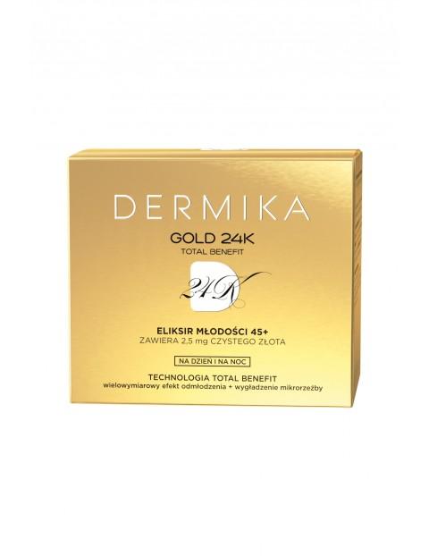 DERMIKA GOLD NEW Luksusowy krem 45+ 50 ml