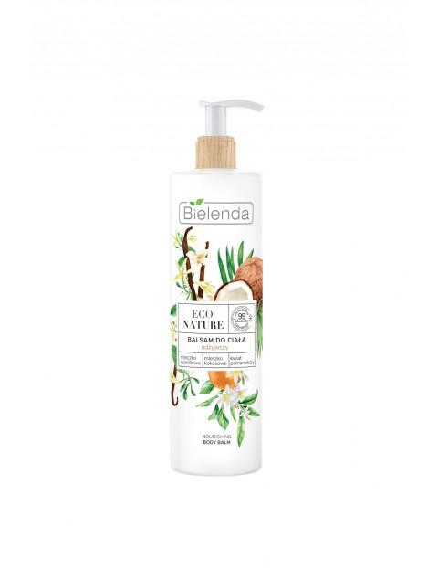 ECO NATURE - Mleczko waniliowe + Mleczko kokosowe + kwiat pomarańczy - balsam odżywczy do ciała  400 ml