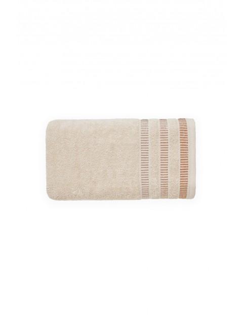 Ręcznik SAGITTA bawełniany z kolorze Cappuccino 50X90cm