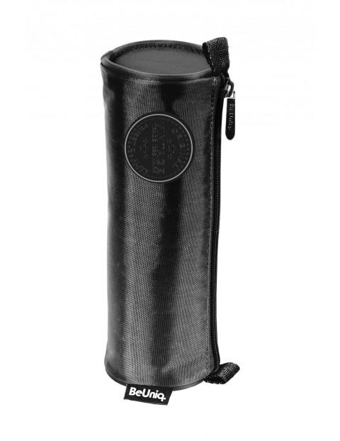 Czarny piórnik szkolny- tuba