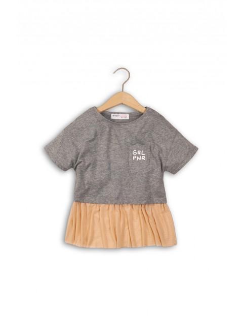 T-shirt dziewczęcy 4I34AR