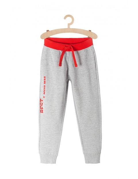Spodnie dresowe dla chłopca Best Player-szare