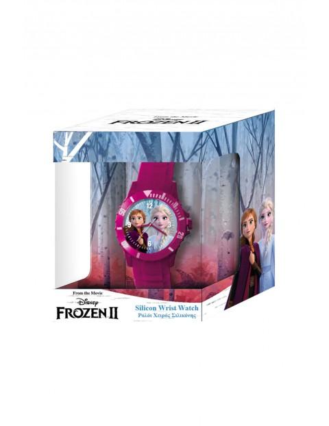 Zegarek analogowy Frozen w pudełku