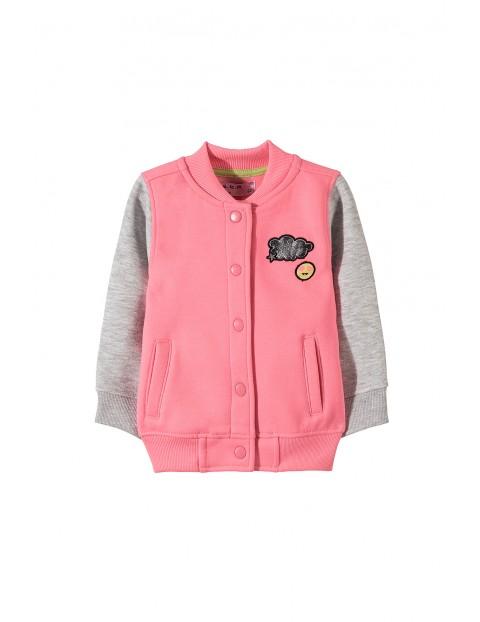 Bluza dresowa dziewczęca 3F3401