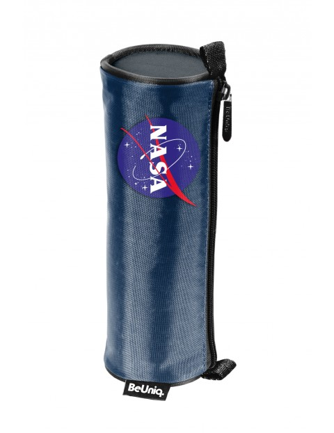 Piórnik tuba NASA granatowy