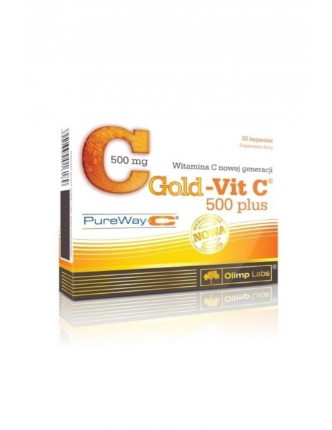 Gold Vit C 500 Plus (Pure Way C)- 30 kapsułki  TOP