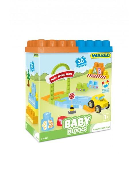 Locki wader Baby Blocks - klocki 30el 12msc+
