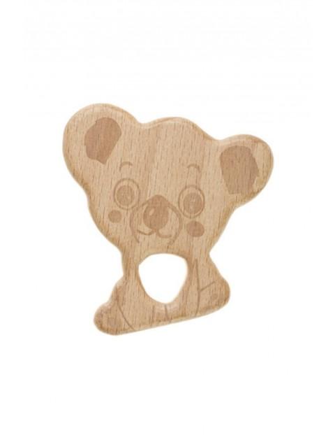 Gryzak drewniany Koala - brązowy wiek 0msc+
