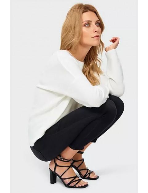 Sweter damski - biały