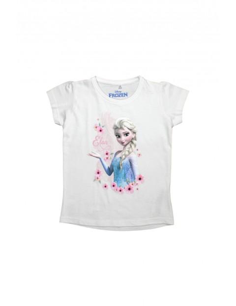T-shirt dziewczęcy Kraina Lodu 3I34CN