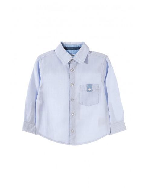 Koszula chłopięca z długim rękawem1J3403