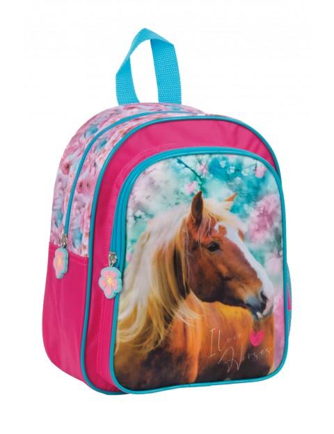 Plecak dla przedszkolaka z koniem
