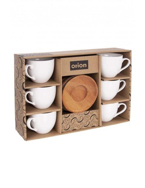 Zestaw filiżanek do kawy 6 sztuk - 100 ml