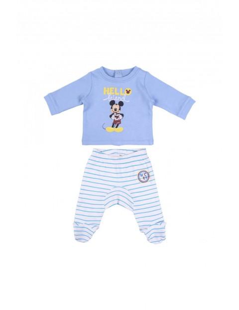 Komplet dla noworodka Myszka Miki - niebieski